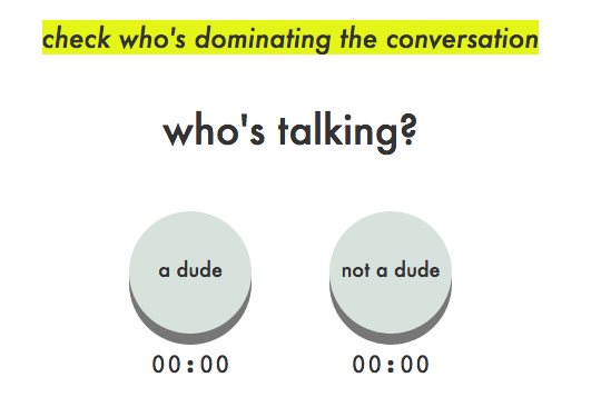 Are men talking too much?